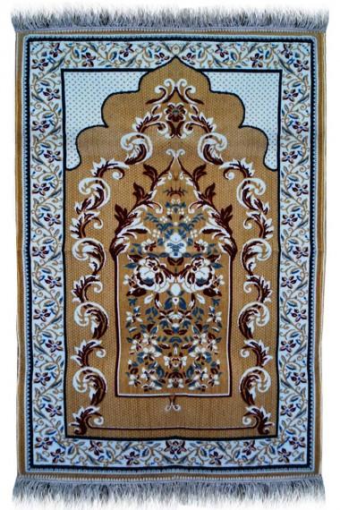 Best Janamaz Plush Velvet Muslim Prayer Rug From Turkey