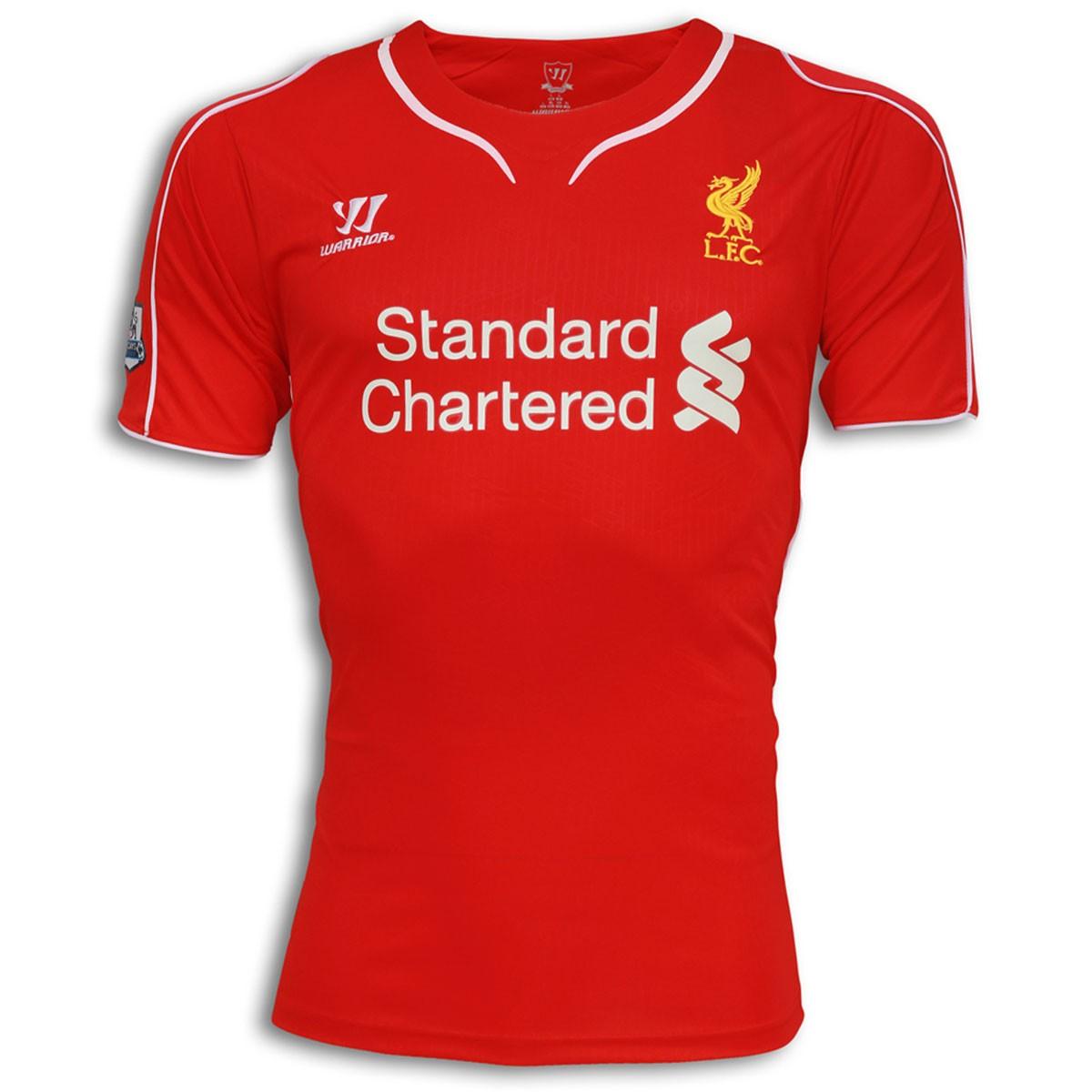 new styles c8b08 c3120 Liverpool Home Shirt 2014 - 2015