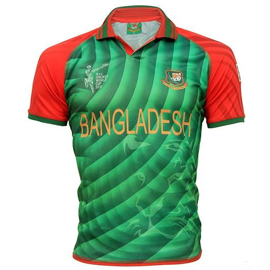 89cc8e52e ICC Cricket World Cup 2015 - Bangladesh Cricket Team Jersey