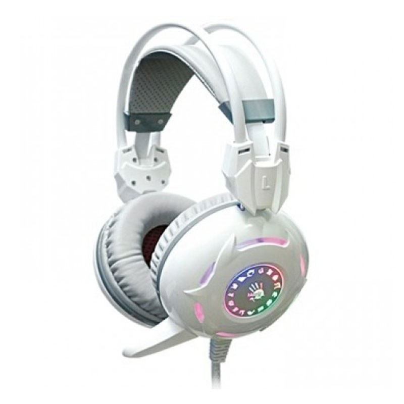 A4tech Bloody G300 Combat Gaming White Headset Atc38