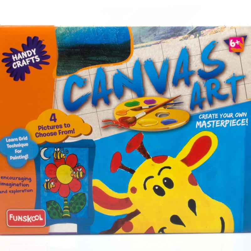 Funskool Canvas Art Game Kids Toys Amp Games Baby Zone