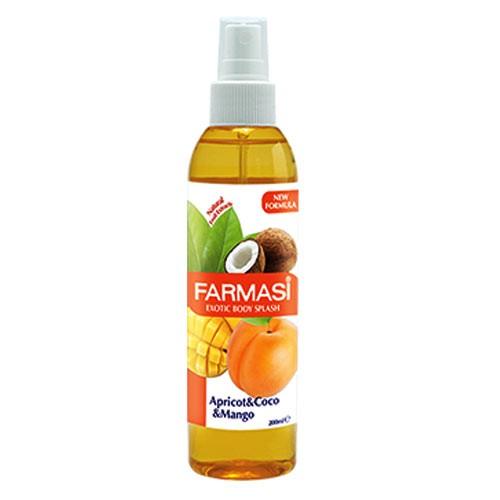 Farmasi Body Splash Fruity 200 Ml Apricot