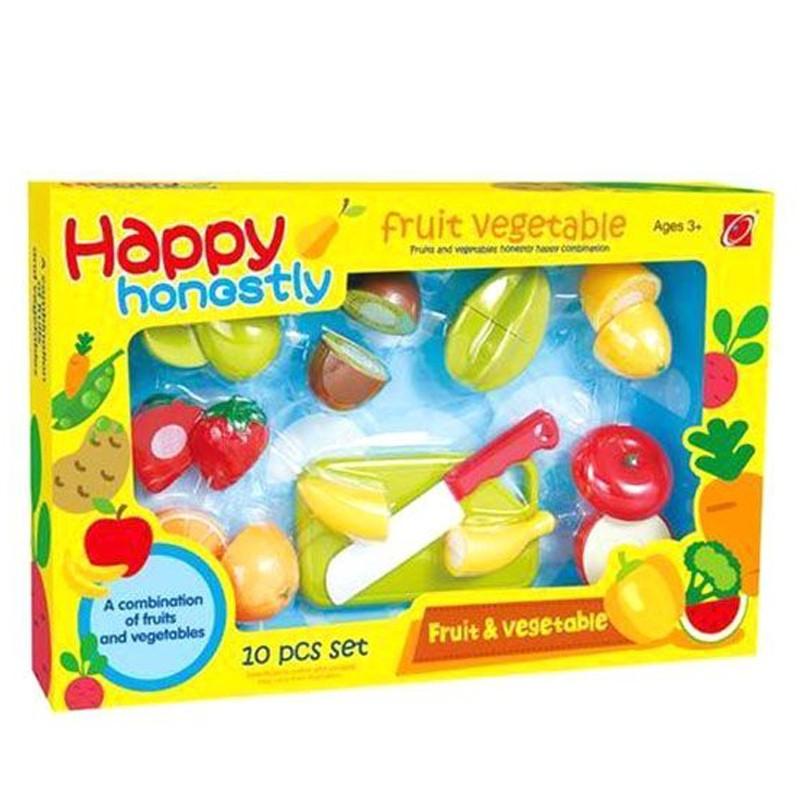Happy Honestly Fruit Amp Vegetable Play Set