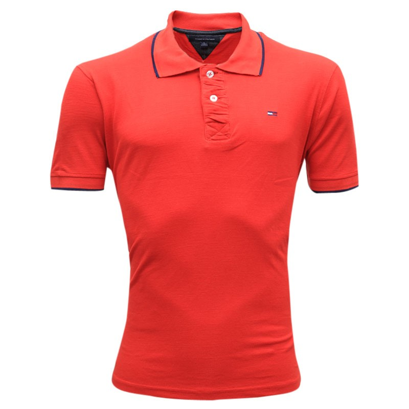 2a166e6913713 Tommy Hilfiger Polo Shirt SB09P Red