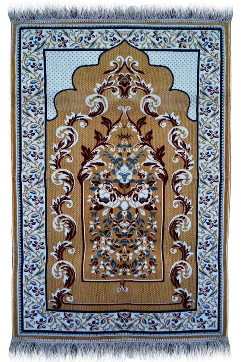 Best Janamaz Plush Velvet Muslim Prayer Rug From Turkey