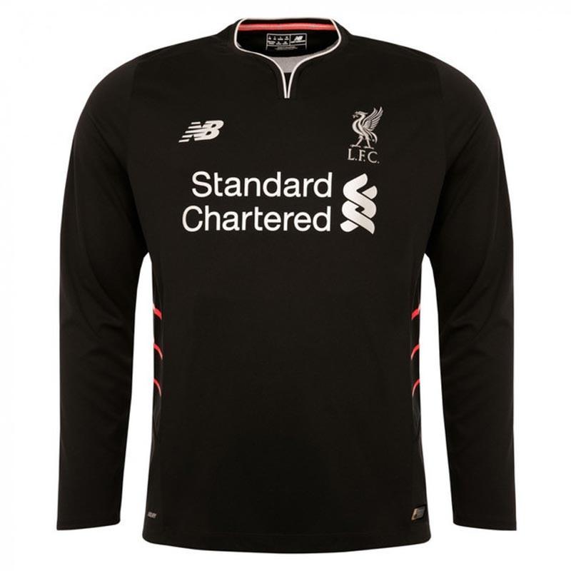 best website 3e03c 843fb Liverpool Full Sleeve Away Jersey 2016-17