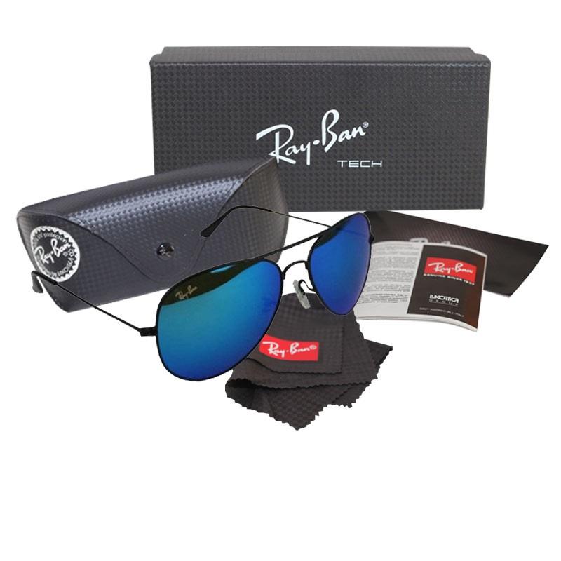 ray ban aviator ocean blue
