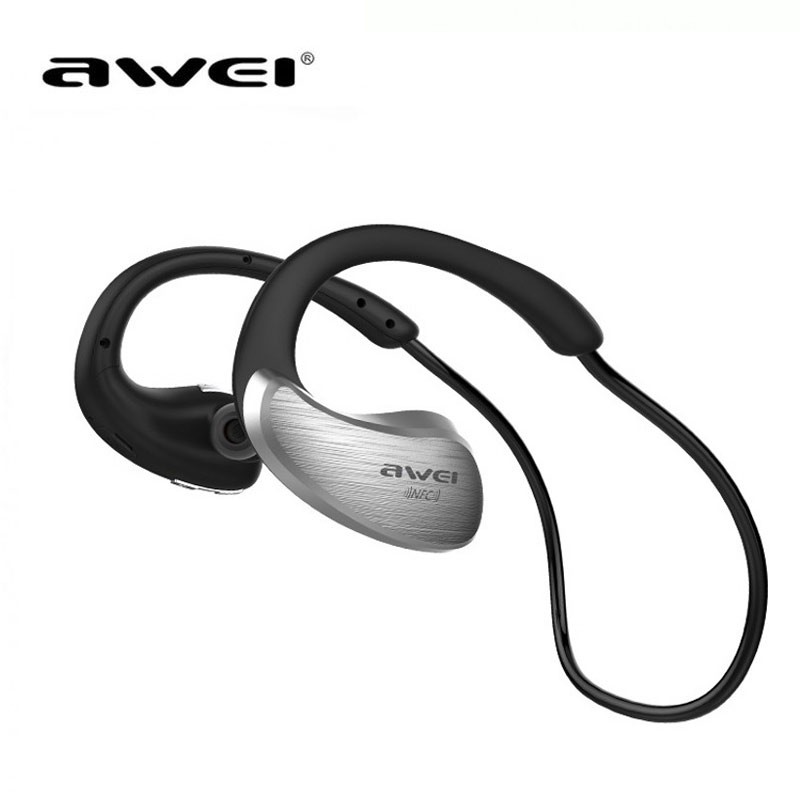 Awei A885bl Sport Wireless Bluetooth Headphone Black Rose Gold Grey Gold Shoppersbd