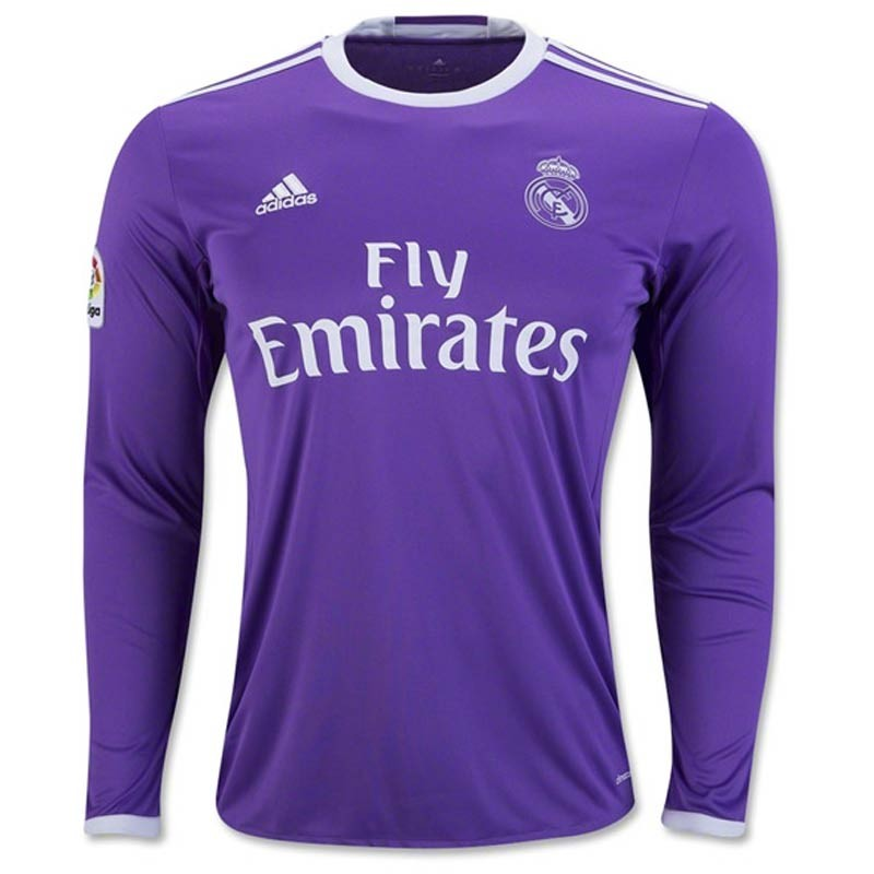 8598ffeee Real Madrid Full Sleeve Away Jersey 2016-17