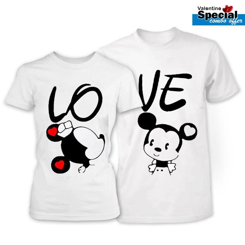 Signature Valentine Couple T Shirt Sg7121