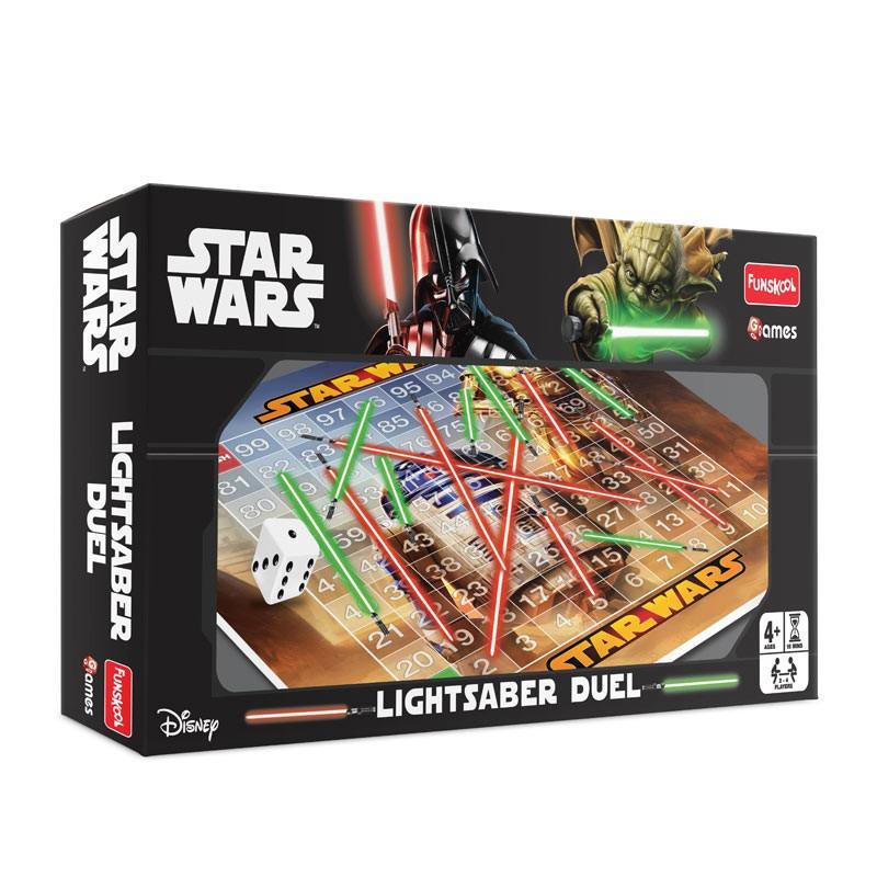 Star Wars Toy Game : Funskool star wars lightsaber duel board game kids toys