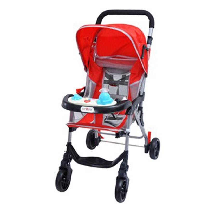 Baby Stroller 7090w Red