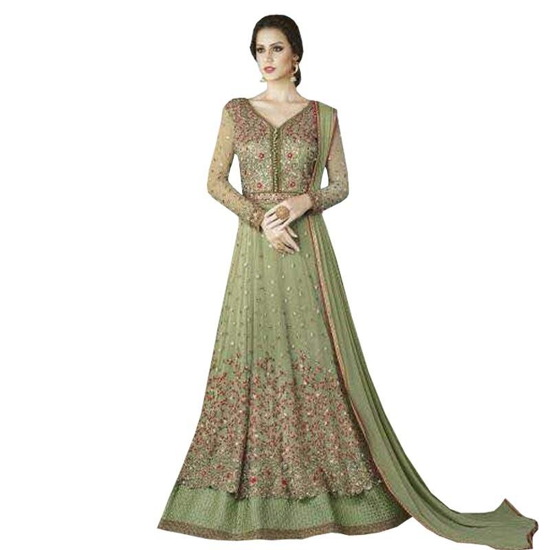 edaeab1fd77 Swagat Heavy Designer Party Wear Gown WF062