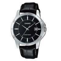 Casio Leather Fashion Watch MTP V004L 1ADF