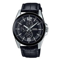 Casio Casio Elegant Gents Watch MTP E306L 1AVDF