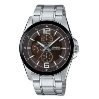 Casio Standard Multi-Hand Men Watch MTP E306D 5AVDF
