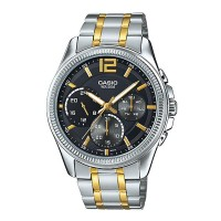 Casio Enticer Analog Black Dial Men's Watch MTP E305SG 1AVDF