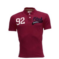 Abercrombie & Fitch Polo Shirt SB21P Red