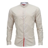 Pure Cotton Stylish Casual Shirt RS10S Off White