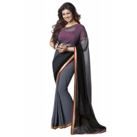 Fabulous Vinay Saree DO11 Storm Cloud