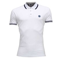 C & X  Polo Shirt SB20P White