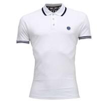 C & X  Polo Shirt SB20P White