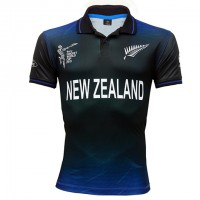 ICC Cricket World Cup'2015 New Zealand Team Jersey