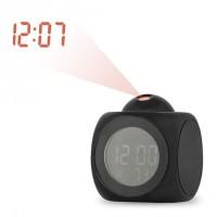 LCD Talking Projection Alarm Clock