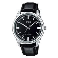 Casio Leather Fashion Watch MTP V005L 1ADF