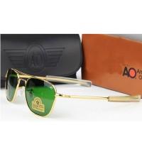 AO Pilot Diamond Hard Sunglasses Golden