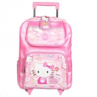 Hello Kitty School Trolley Bag