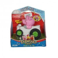Fisher Price Barnyard Basics Shake-N-Go Pig Vehicle New