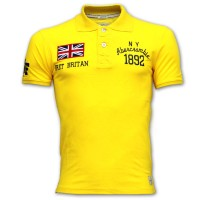 Abercrombie & Fitch Polo Shirt SB04P Yellow