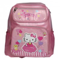 Hello Kitty School Bag (Light Pink)