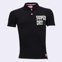 Super Dry Polo Shirt SB22P Black
