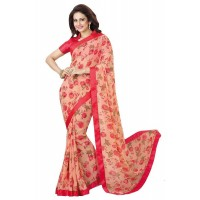 Vinay Star Walk Chiffon Georgette Saree With HTE Blouse  - SW45