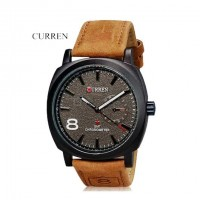 CURREN 8139 Men Military Watch Black