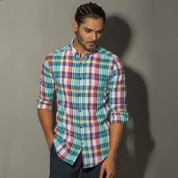 OBTAIN Premium Slim Fit Printed Casual Shirt OL5286