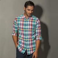 OBTAIN Premium Slim Fit Printed Casual Shirt OL5286