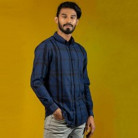 OBTAIN Premium Slim Fit Printed Casual Shirt OL5321