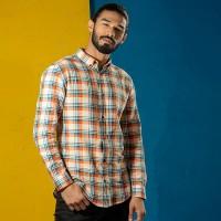 OBTAIN Premium Slim Fit Printed Casual Shirt OL5322
