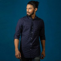 OBTAIN Premium Slim Fit Printed Casual Shirt OL5332