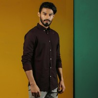 OBTAIN Premium Slim Fit Printed Casual Shirt OL5334