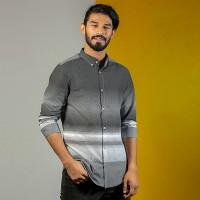 OBTAIN Premium Slim Fit Printed Casual Shirt OL5341