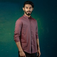 OBTAIN Premium Slim Fit Printed Casual Shirt OL5346