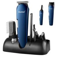 KM-550 Kemei 5 In 1 Rechargeable Multigrooming Set