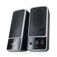 Genius 6W Stereo Speakers SP-M200 BLACK 2.0