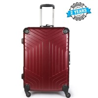 PRESIDENT 24 inch Hard Case Travel Luggage Rose Red  PBL732