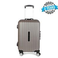 PRESIDENT 20 inch Hard Case Travel Luggage On 4-Wheels Suitcase Light Stone PBL736