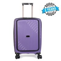 PRESIDENT 20 inch Hard Case Travel Luggage On 4-Wheels Suitcase  BLUE PINK  PBL742